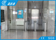 kualitas baik Gerbang Logstile Elektronik & Two Way Turnstile Barrier Gate, Sentakan Flap Barrier Turnstile Indoor Touch Dijual