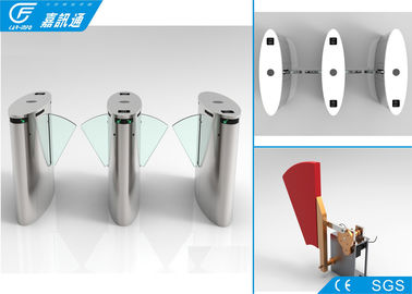 High Speed ​​Security Flap Barrier Turnstile Railway Statiomn / Tiket Tiket